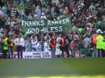 Thanks Martin God Bless banner